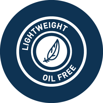 Texture leggera & e oil-free